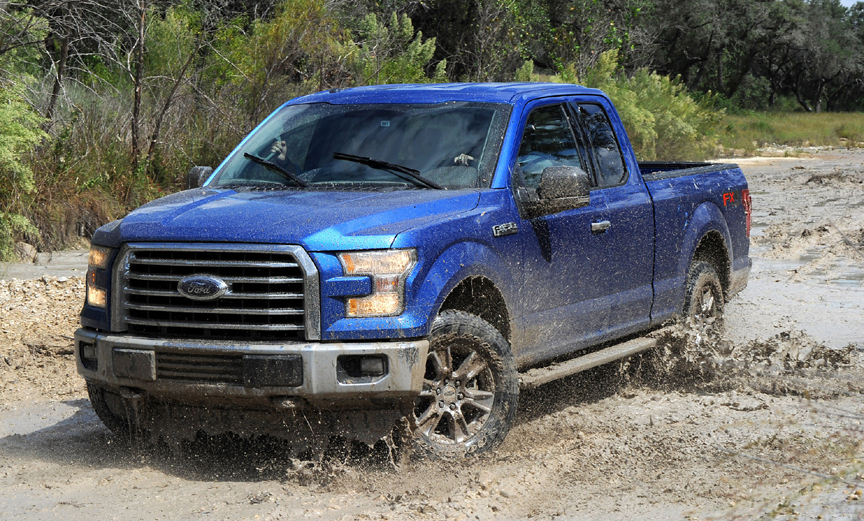 2015 ford f 150 supercab 4x4 with 2016 update review by carey russ video. Black Bedroom Furniture Sets. Home Design Ideas
