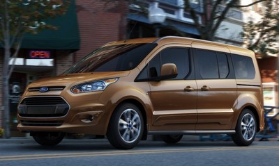 Ford Transit Connect Wagon >> Minivan Review: 2015-16 Ford Transit 150 LR Wagon XLT Review by Carey Russ +VIDEO
