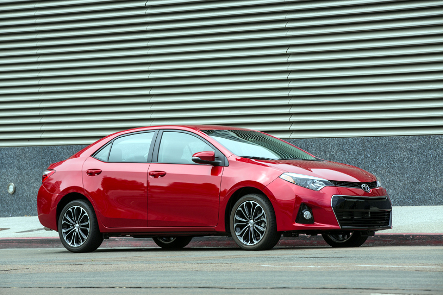 2015 toyota corolla s premium with 2016 updates review video. Black Bedroom Furniture Sets. Home Design Ideas