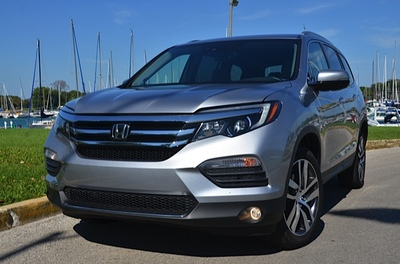 2016 honda pilot review by larry nutson. Black Bedroom Furniture Sets. Home Design Ideas