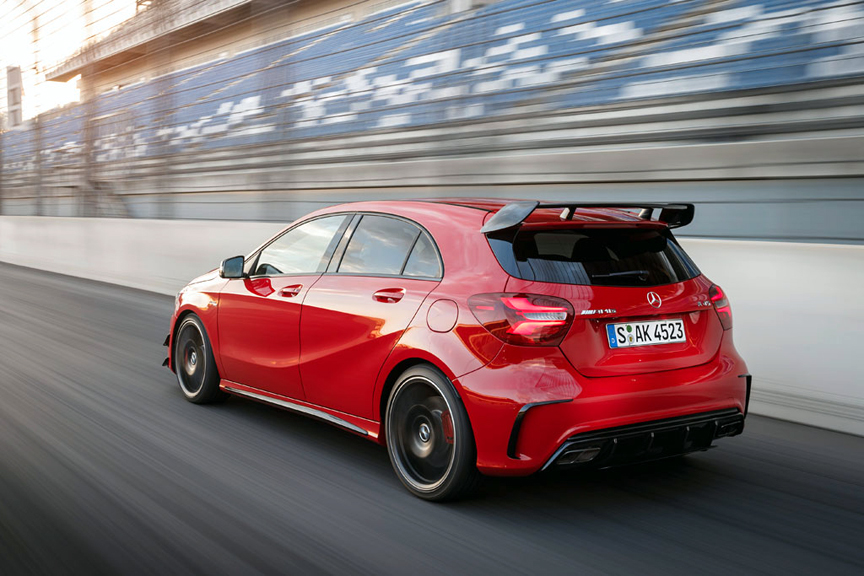 first drive 2016 mercedes benz 45 amg 4matic review by henny hemmes. Black Bedroom Furniture Sets. Home Design Ideas