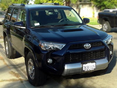 2016 toyota 4runner 4x4 trail premium v6 review by mark fulmer. Black Bedroom Furniture Sets. Home Design Ideas