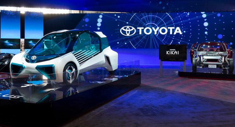 Upcoming New Cars At Auto Expo 2016: Toyota Displays Future Of Mobility