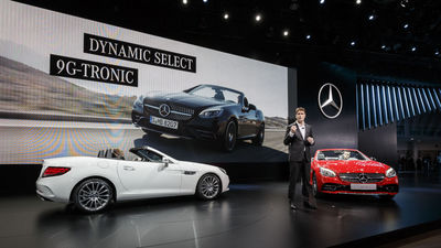 MercedesBenz At The North American International Auto Show - Mercedes benz car show