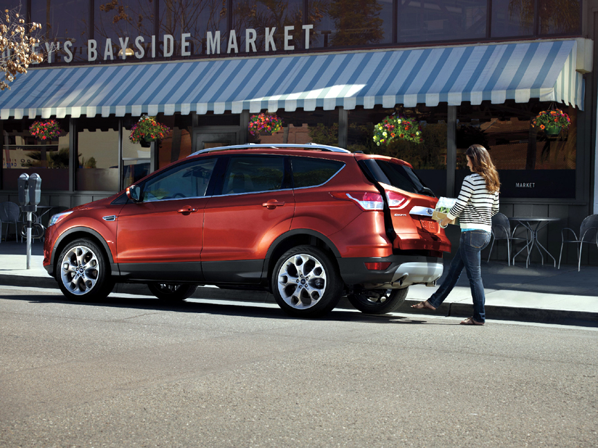 2016 ford escape titanium 2 0 awd review by carey russ. Black Bedroom Furniture Sets. Home Design Ideas