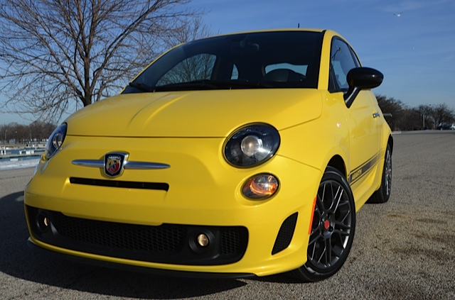 2016 fiat 500 abarth small but wicked review by larry nutson video. Black Bedroom Furniture Sets. Home Design Ideas