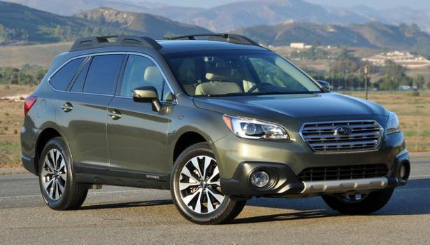 2016 subaru outback named to 16 best family cars of 2016. Black Bedroom Furniture Sets. Home Design Ideas