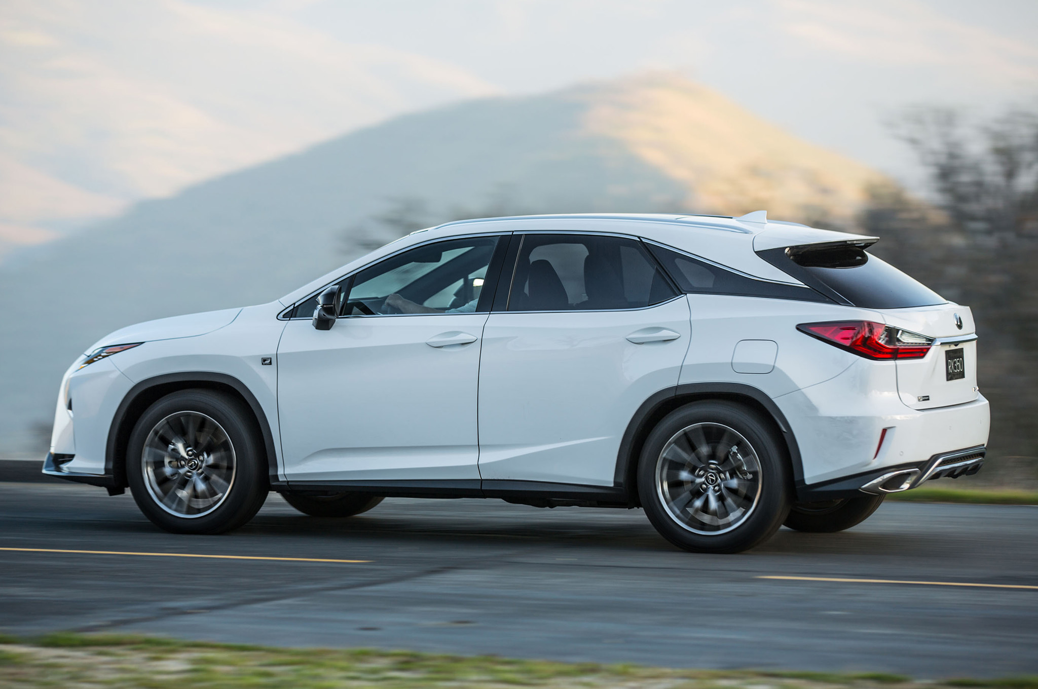 lexus rx 350 and rx 450h to feature bridgestone fuel-efficient tires