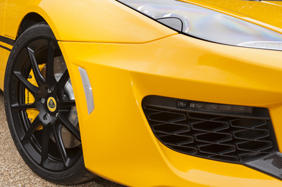 As standard, the Evora Sport 410 comes with carbon fibre sports ...