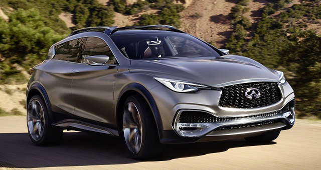 infiniti qx30 awarded best suv crossover by greater atlanta automotive media association. Black Bedroom Furniture Sets. Home Design Ideas