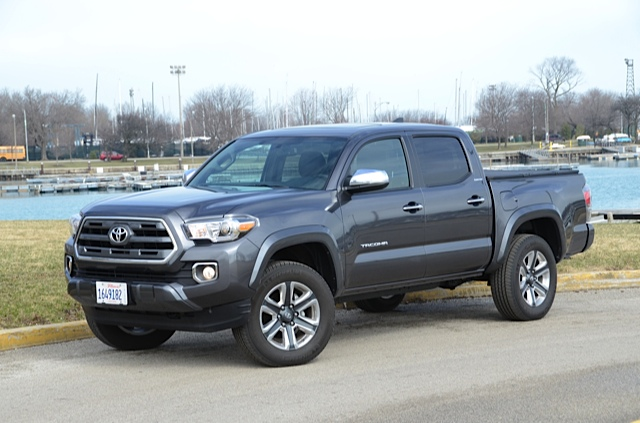 Toyota Tacoma 4x4 4 Door 2016 toyota tacoma 4x4 double cab review by ...