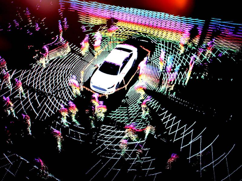 Ford Smart Mobility >> Ford Fusion Autonomous Research Vehicles Use LiDAR Sensor Technology To Drive In The Dark