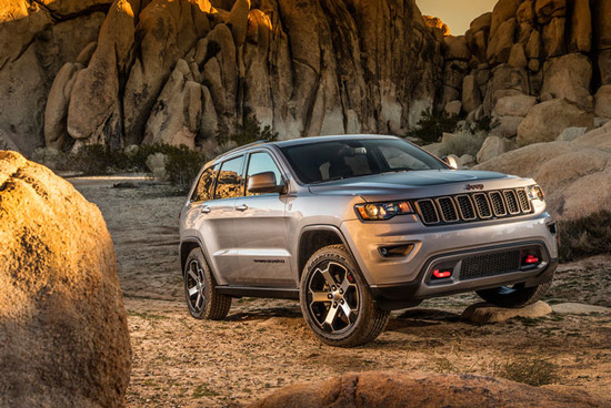 2016 Jeep Cherokee Trailhawk First Gasoline Powered USA Made, USA Brand  Passenger Vehicle To Qualify For Japan Eco Car Tax Incentive