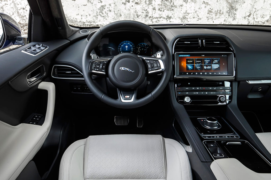 first drive: 2017 jaguar f-pace reviewhenny hemmes +video