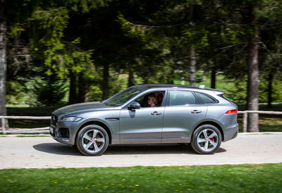First Drive 2017 Jaguar F Pace Review By Henny Hemmes Video