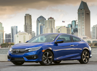 2016 honda civic coupe 1 5t touring review by john heilig for 2016 honda civic gas tank size