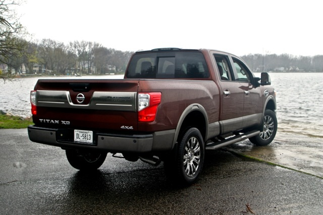 2016 nissan titan xd diesel review by steve purdy. Black Bedroom Furniture Sets. Home Design Ideas
