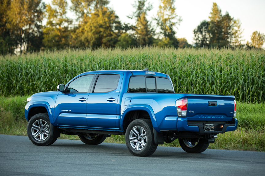 2016 Toyota Tacoma 4WD Double Cab Limited Review by Carey ...