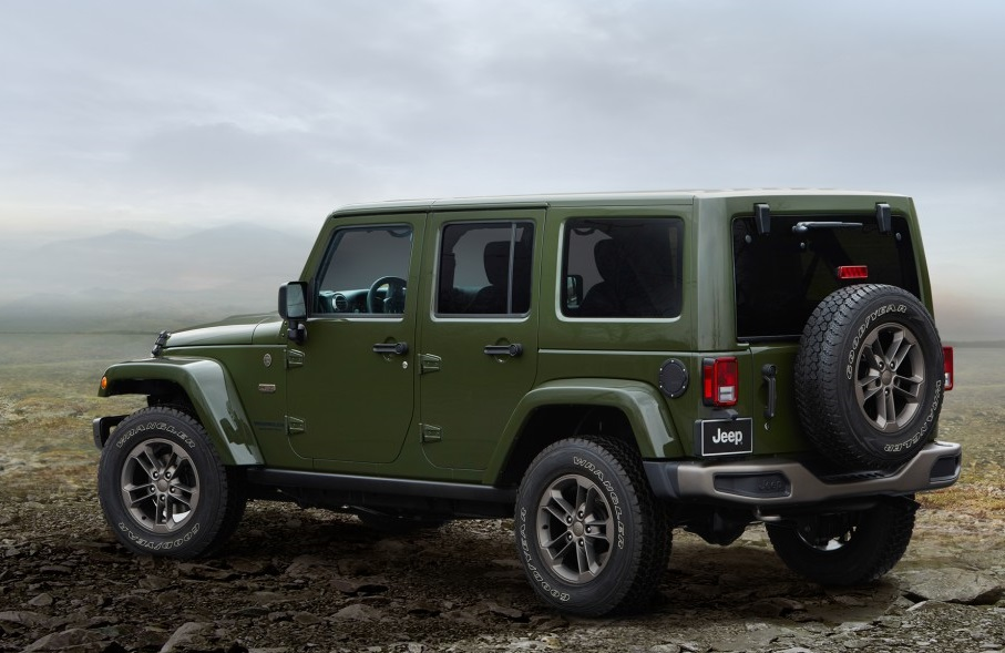 2016 jeep wrangler unlimited 75th anniversary edition review by steve purdy. Black Bedroom Furniture Sets. Home Design Ideas