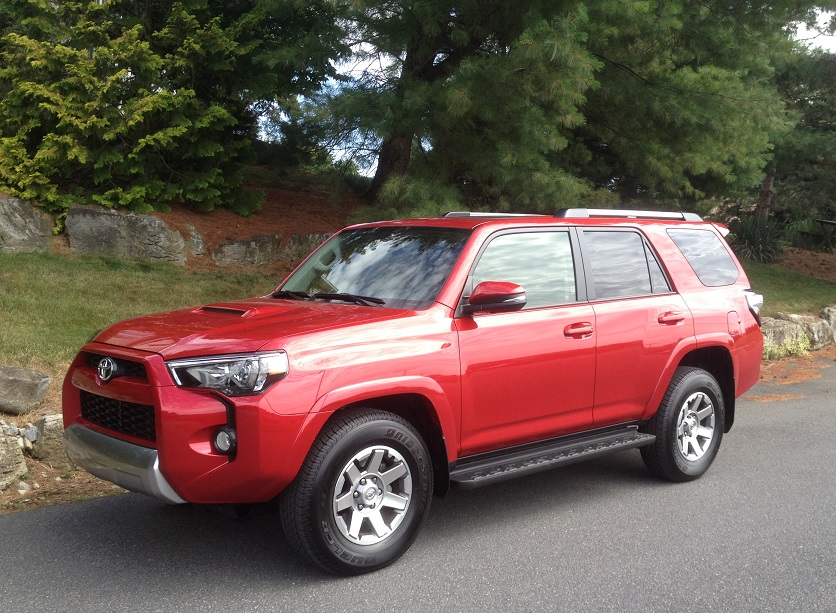 2016 toyota 4runner premium 4x4 trail review by john heilig video. Black Bedroom Furniture Sets. Home Design Ideas
