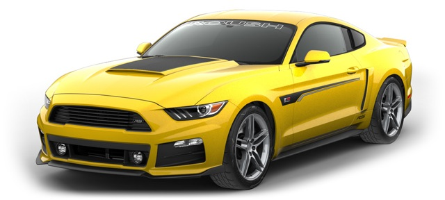 2016 Mustang Hood Scoop >> New 2017 ROUSH Mustang RS — Yours for Under $30K
