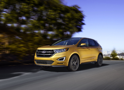 2016 ford edge sport awd review by carey russ video. Black Bedroom Furniture Sets. Home Design Ideas