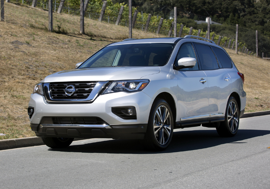 2017 Nissan Pathfinder Platinum 4wd Review By Carey Russ