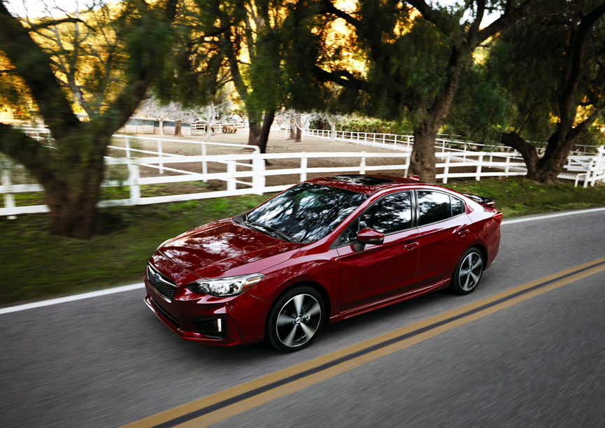 Subaru Announces Pricing On All-New 2017 Impreza Models