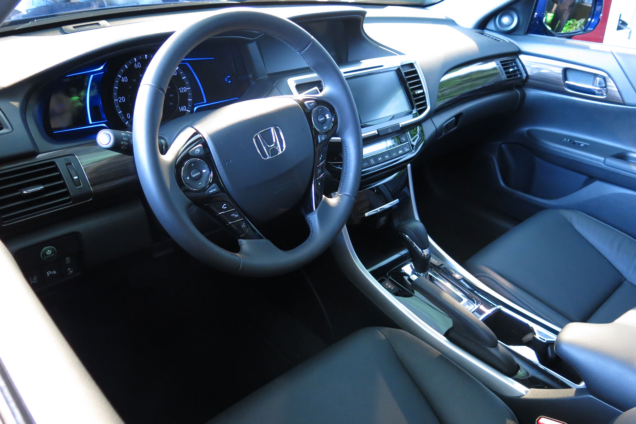 car review 2017 honda accord hybrid ex l review. Black Bedroom Furniture Sets. Home Design Ideas