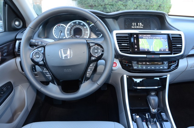 2017 Honda Accord Sedan Touring V6 Review Select To View Enlarged Photo