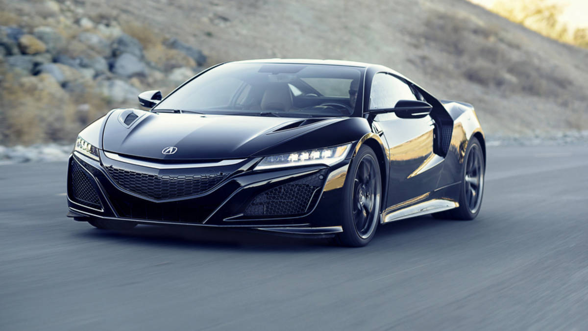 2017 acura nsx named performance car of the year by road and track magazine. Black Bedroom Furniture Sets. Home Design Ideas