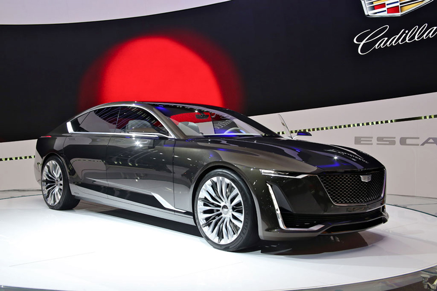 Concept Cars - Like the Cadillac Escala - Shine at the 2016 LA Auto Show +VIDEO