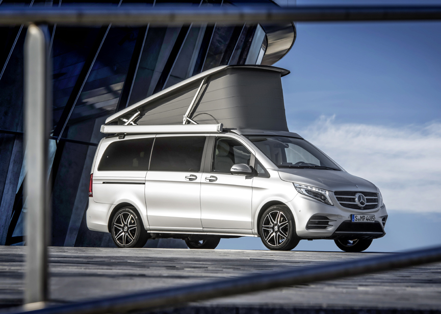 Pricing announced for new mercedes benz v class marco polo for Mercedes benz camper van price