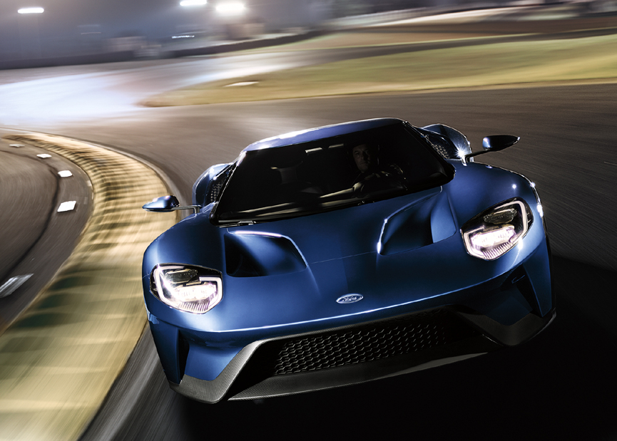 Ford GT Delivers Highest Top Speed, Fastest Lap Times On The Track Of ...