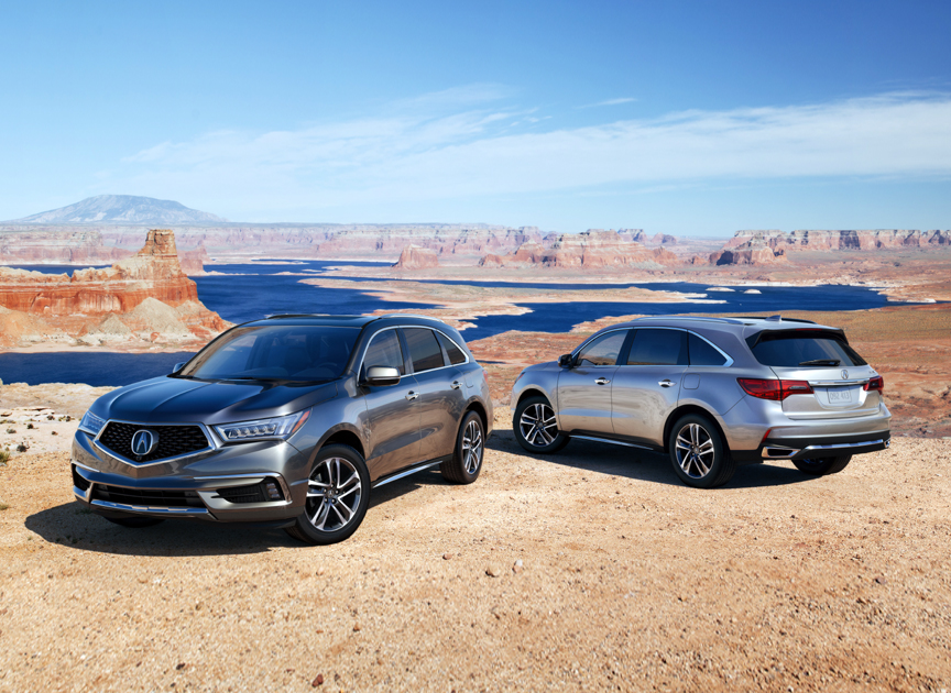 Go In Snow - 2017 Acura MDX AWD Advance Review by Carey Russ ... Acura Mdx Range Switch Wiring Diagram on