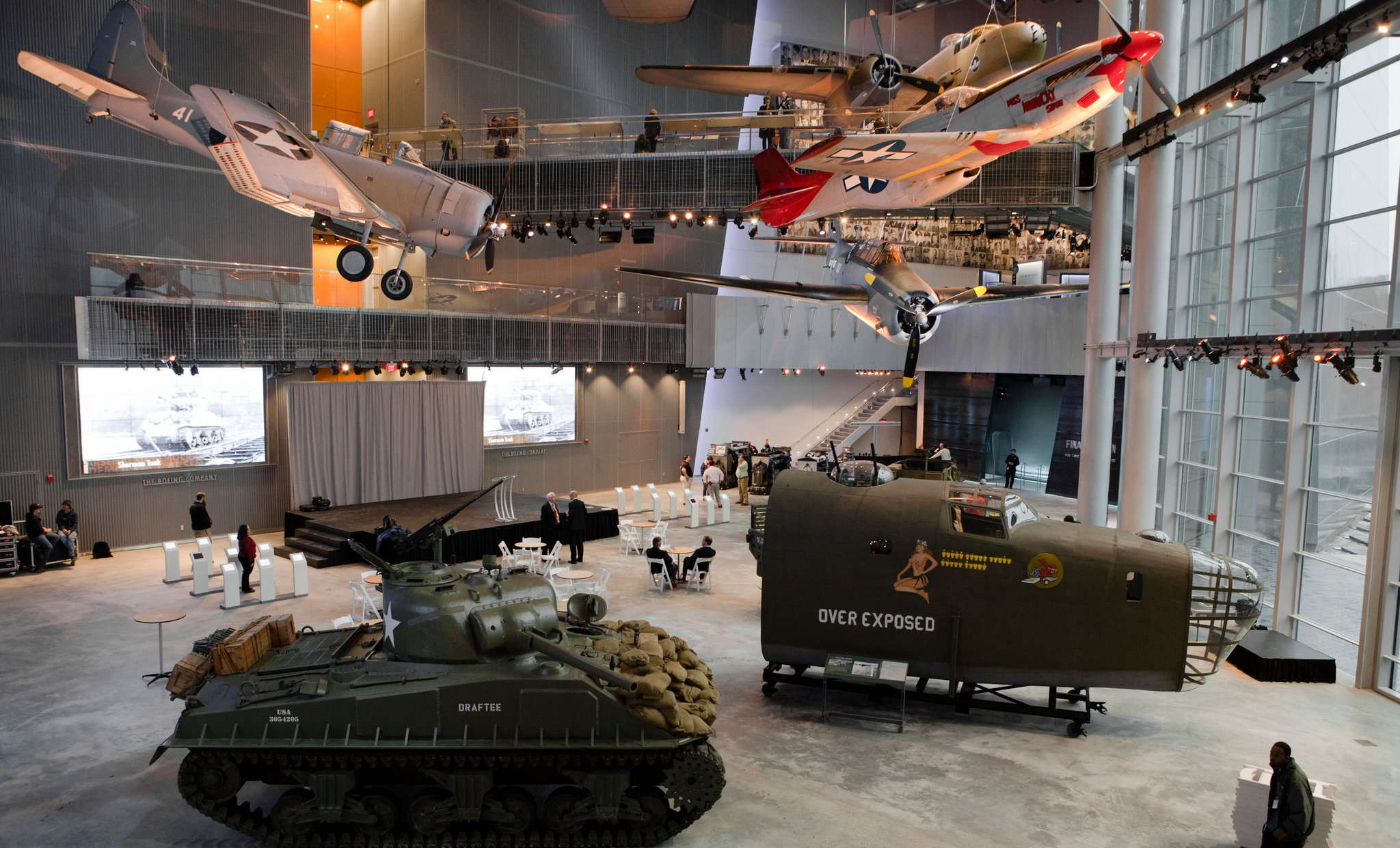 The national wwii museum presents exclusive new orleans for Best museums in new orleans