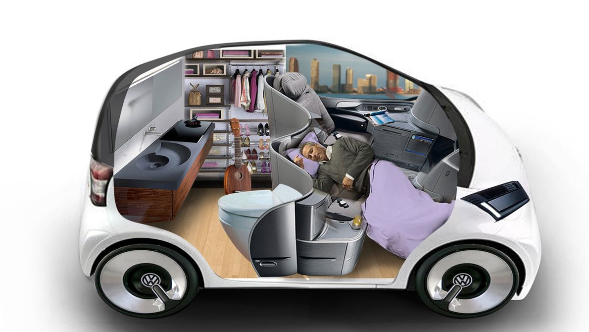 Driverless Cars and Shared Mobility to Transform Traditional