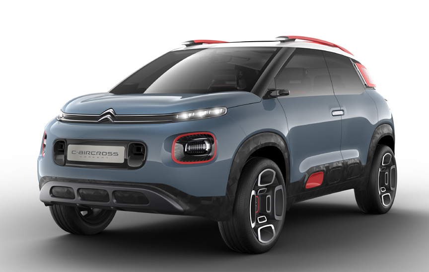 2017 shanghai motor show citroen 39 s suv offensive. Black Bedroom Furniture Sets. Home Design Ideas