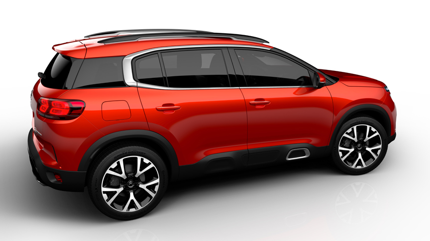 suv offensive citroen reveals the new c5 aircross at 2017 shanghai auto show. Black Bedroom Furniture Sets. Home Design Ideas