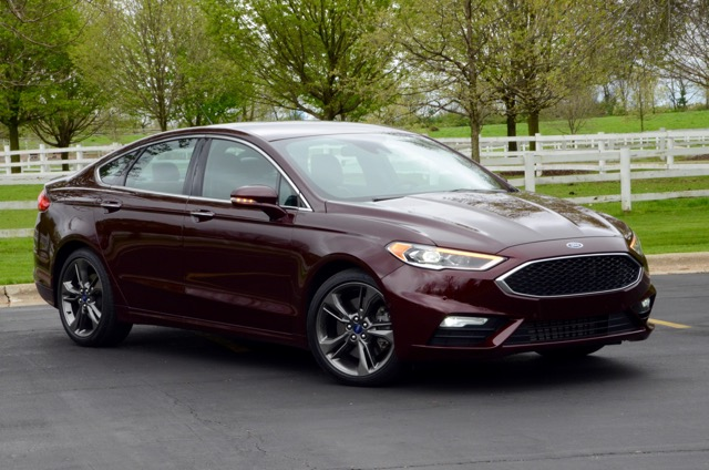2017 ford fusion v6 sport family sedan review by larry nutson. Black Bedroom Furniture Sets. Home Design Ideas