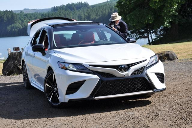 car review 2018 toyota camry preview next gen of america 39 s favorite sedan by steve purdy. Black Bedroom Furniture Sets. Home Design Ideas