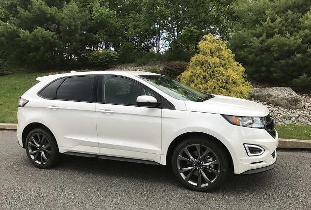 Go In Snow Car Review 2017 Ford Edge Sport Awd Review