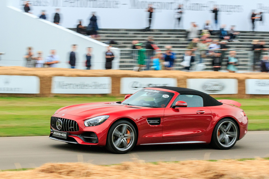 Mercedes benz at 2017 goodwood festival of speed for Mercedes benz cherry hill parts