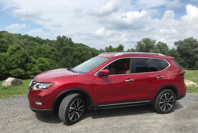 2017 nissan rogue sl awd review by john heilig. Black Bedroom Furniture Sets. Home Design Ideas
