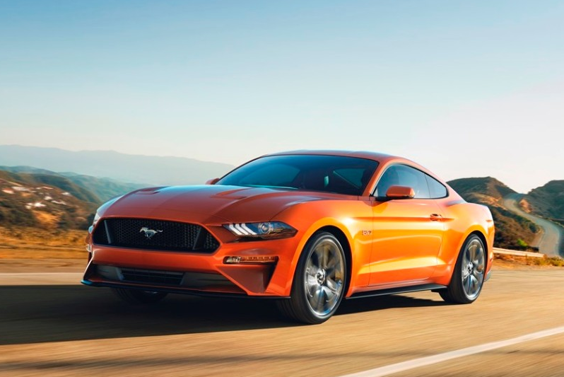 New 460 HP 10 Speed AT 2018 Ford Mustang GT 0-60