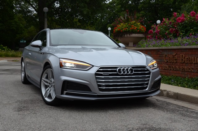 2018 audi a5 coupe review by larry nutson. Black Bedroom Furniture Sets. Home Design Ideas