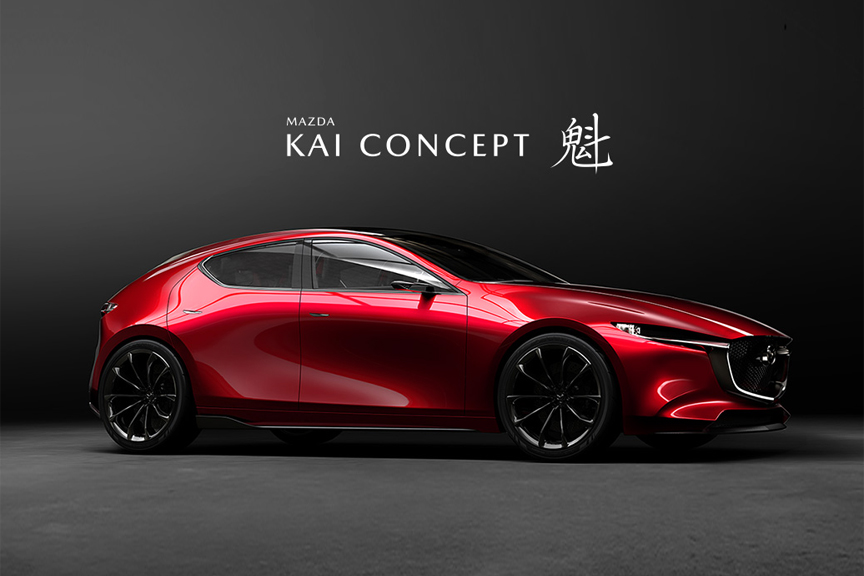 Mazda 3 Hatchback Used >> Mazda Unveils KAI CONCEPT and VISION COUPE at Tokyo Motor Show