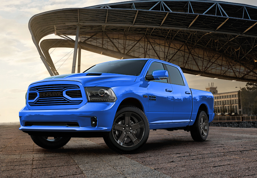 Ram Unveils Special Edition 2018 Hydro Blue Sport Video