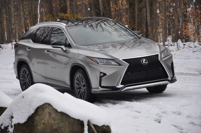 2018 lexus rx 350 f sport road trip review snowy boyne mountain mi. Black Bedroom Furniture Sets. Home Design Ideas