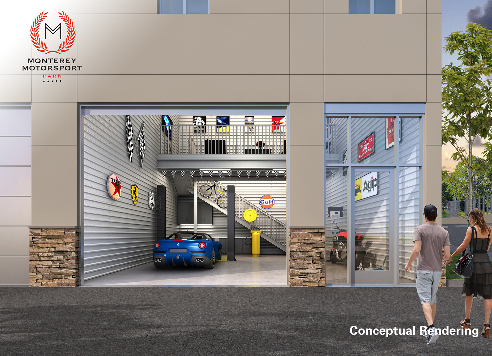 Garage unlimited of monterey completes sellout of for Condo plans with garage